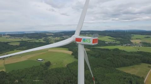 Bau eines Windparks - Max Bögl Wind