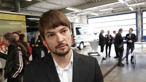 Vorbereitungen für autonom fahrenden Bus in Kyritz - Interview