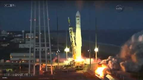 Antares Explodes Seconds After Launch (NASA)