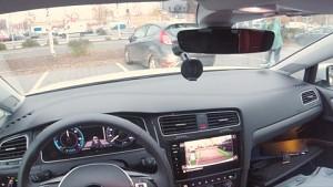 Parkassistent beim eGolf ausprobiert