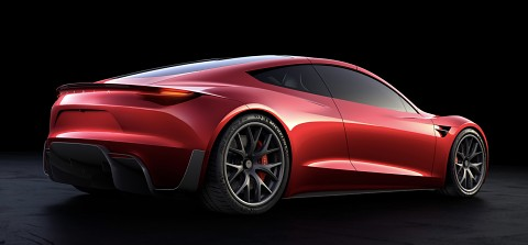 Tesla Roadster 2 - Clip