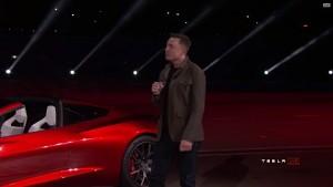 Elon Musk stellt Tesla Roadster 2 vor
