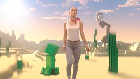 Minecraft Super Duper Graphics - Trailer (Musical)