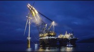 Bau von Hywind Scotland - Statoil