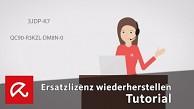 Avira-Lizenz wiederherstellen (Herstellervideo)