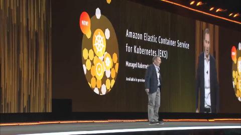 AWS stellt Kubernetes-Dienst vor - Präsentation