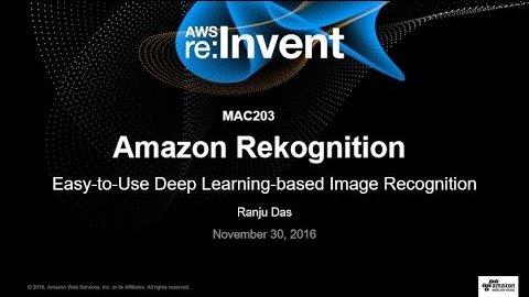 AWS stellt Rekognition auf der Invent 2016 vor