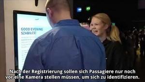 Neue Gesichtsscanner von Finnair angesehen