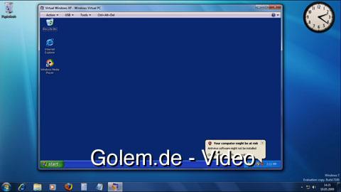 XP-Modus für Windows 7 - Video