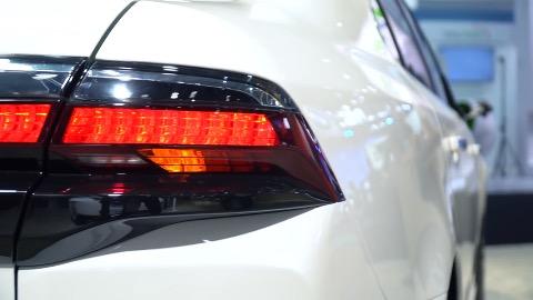 NEVS 9-3 als Konzeptfahrzeug auf der CES Shanghai 2017