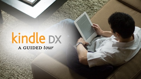 Amazons E-Book-Reader Kindle DX