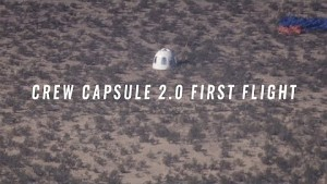 Crew Capsule 2.0 First Flight (Firmenvideo)