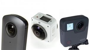 Ricoh Theta V, Kodak Pixpro 4KVR360 und Gopro Fusion - Test