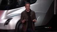 Vorstellung des Tesla Semi und des Tesla Roadster
