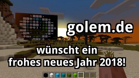 Golem.de wünscht ein frohes neues Jahr 2018