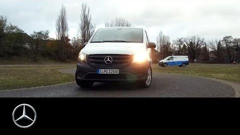 Testfahrt des E-Vito - Mercedes