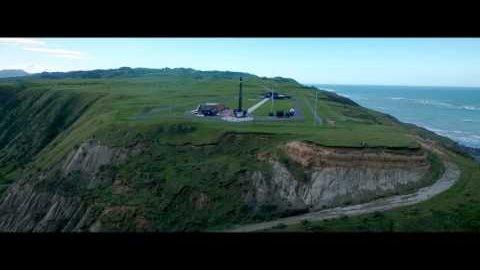 Testflug der Electron Rakete