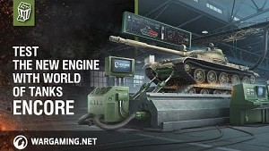World of Tanks - Encore Engine Test