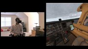X-Plane 11 - frühe VR-Beta mit HTC Vive (Herstellervideo)