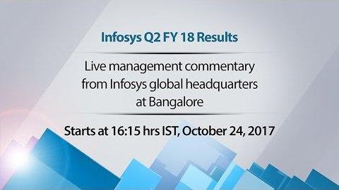 Infosys Q2 FY18 Results (Firmenvideo)