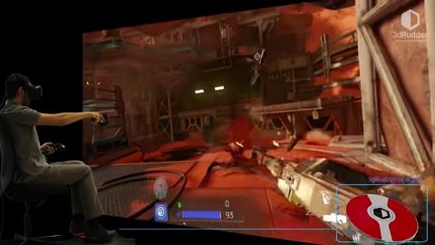 3D Rudder - Trailer (Doom VFR)