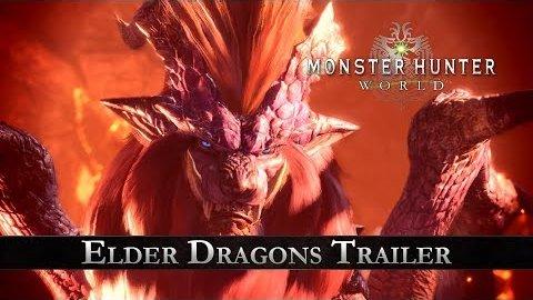 Monster Hunter World - Trailer (Elder Dragons)