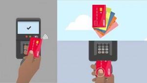 Gemalto Kontaktlos bezahlen mit Fingerabdruck