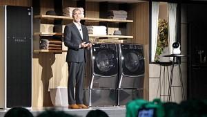 LG zeigt smarte Haushaltsgeräte (CES 2018)