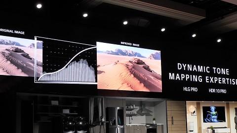 LG Bildverbesserungen bei Smart-TVs (CES 2018)