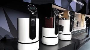 LG zeigt Robo-Helfer (CES 2018)