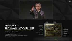 Nvidia kündigt Drive Xavier an (CES 2018)