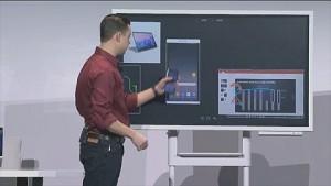 Samsung zeigt Flip Smartboard (CES 2018)