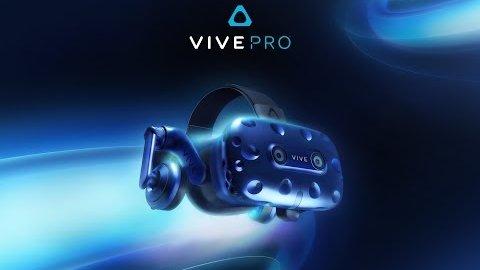 HTC kündigt das Vive Pro an (CES 2018)