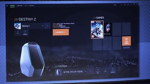 Alienware zeigt Games-Launcher (CES 2018)