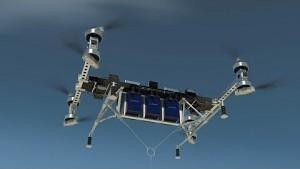 Lasten-Octocopter - Boeing