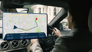 What3Words und Daimler