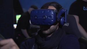 HTC Vive zeigt VR-Messe Highlights (CES 2018)