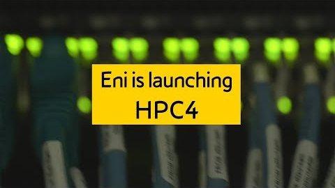 Eni zeigt den HPC4-Supercomputer