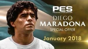 Diego Maradona in PES 2018 - Trailer