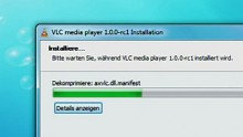 VLC media player 1.0 RC1 - Impressionen