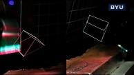 Freischwebende Projektion - BYU