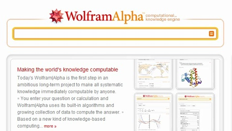 Wolfram Alpha - Screencast