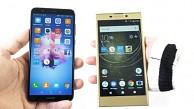 Sony Xperia L2 und Huawei P Smart - Test