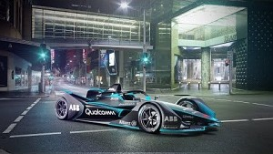 Gen2-Fahrzeug der Formel E - FIA