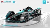 Der neue Formel-E-Bolide auf dem Drehteller - FIA