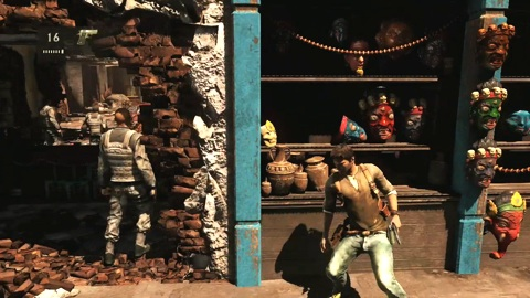 Uncharted 2 - Warzone-Trailer