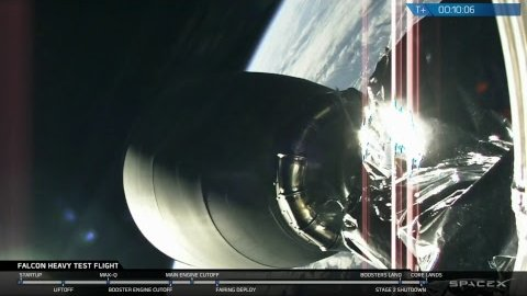 Falcon Heavy Test Flight (SpaceX)