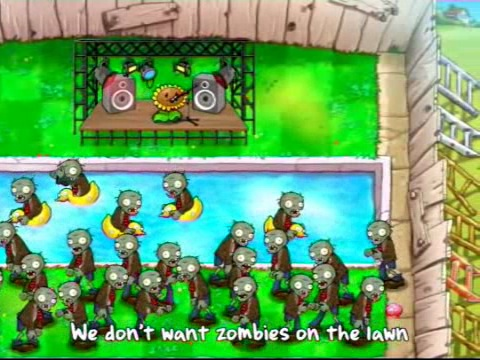 Plants vs. Zombies - Musikvideo-Trailer