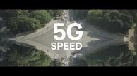 5G-Datenverbindung mit Snapdragon X50 5G Modem
