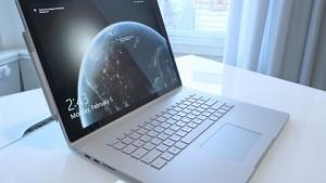 Microsoft Surfacebook 2 (15 Zoll) angesehen
